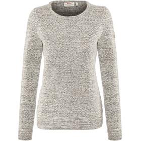 Fjällräven Övik Structure Sweater Women Egg Shell-Grey